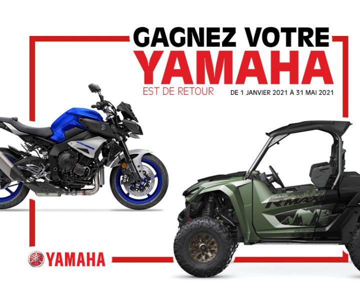 Gagnez votre Yamaha